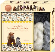 Beginner's Crochet Unicorn & Falabella Horses and  Pony Kit